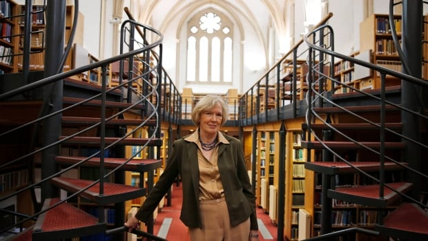 Canadian historian Margaret Macmillan in the St. Anthony's College library in Oxford, England, where she is Warden. Macmillan is an expert on World War I and frequently lectures on the subject in conferences around the world.