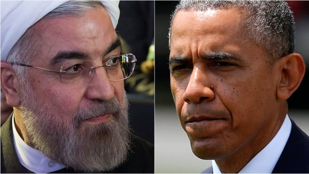 Iran President Hassan Rouhani, left, and U.S. President Barack Obama could shift the relationship between their countries because of the crisis in Iraq.