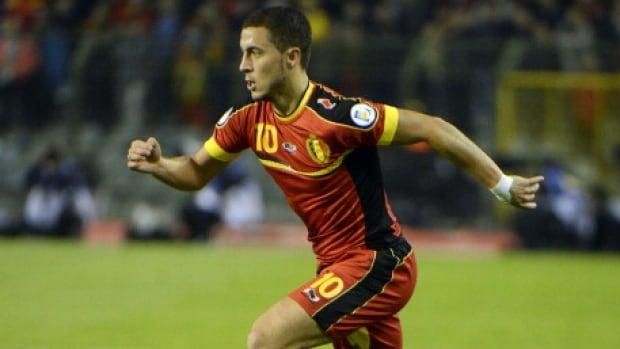 Belgium's Eden Hazard is the complete package as an attacking midfielder.