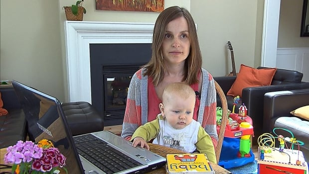 Cornelia Brack can't register her 7-month-old son Alexander on Quebec's new daycare web portal.