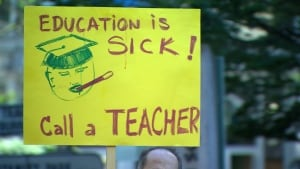 B.C. teachers' strike and lockout - June 2014