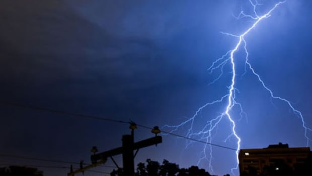Environment Canada says severe thunderstorms possible Monday.