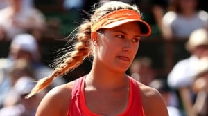 Eugenie Bouchard of Westmount, Que., lost 2-6, 6-3, 6-3 to Vania King in the first round of the Topshelf Open on Tuesday.