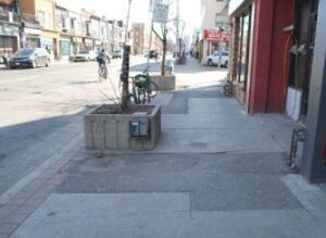 Old sidewalks