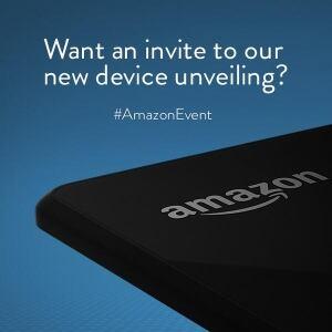 Amazon event announcement