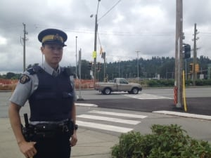 Coquitlam RCMP Corporal Jamie Chung