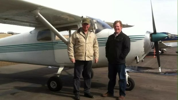 Phil Wimmer, left, and his son Brad Wimmer died in a plane crash Sunday.