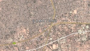 Damaturu, Nigeria map