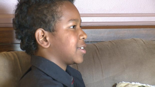 Torrence Collier, 11, moved with his adoptive parents to Westport, on Newfoundland's Baie Verte Peninsula, in 2011. He has spoken out about alleged bullying by fellow students, in a case that has sparked resentment in the community of 220.