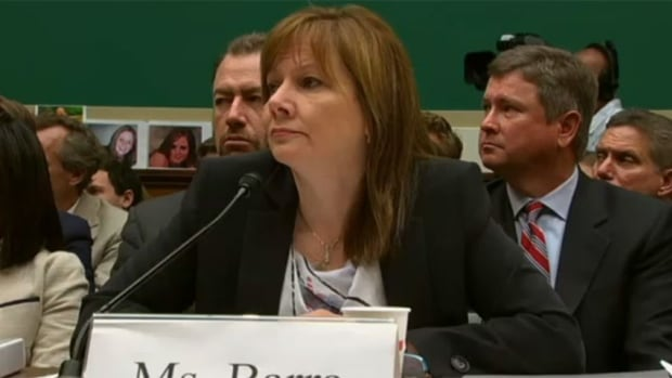 Mary Barra, CEO of General Motors, testified before U.S. Congress today about the faulty ignition switch problem that was behind 13 deaths, stressing her sympathies to victims.