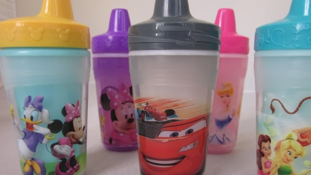 The U.S.-based Center for Environmental Health shipped a number of sippy cups to two different labs to be tested for estrogenic compounds.