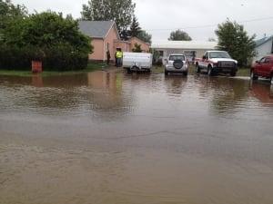 Claresholm flooding