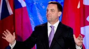 Ontario PC Leader Tim Hudak on June 12 election night