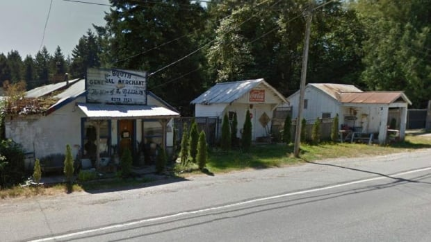 The Noel Booth General Merchant store in South Langley is up for sale for $1.