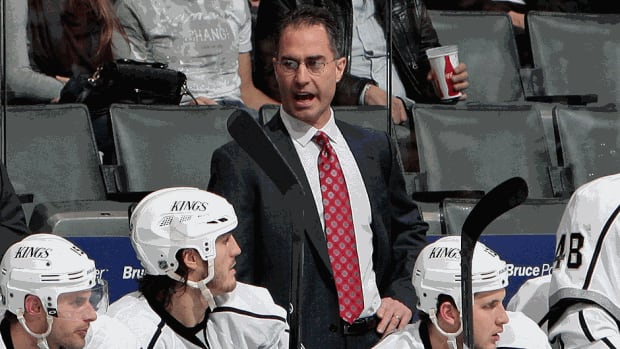 The Kings have promoted John Stevens to associate coach while also re-signing assistant coach Davis Payne and goalie coach Bill Ranford.