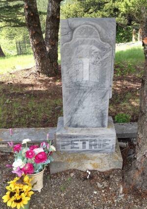 Jean Schaffer's uncles grave