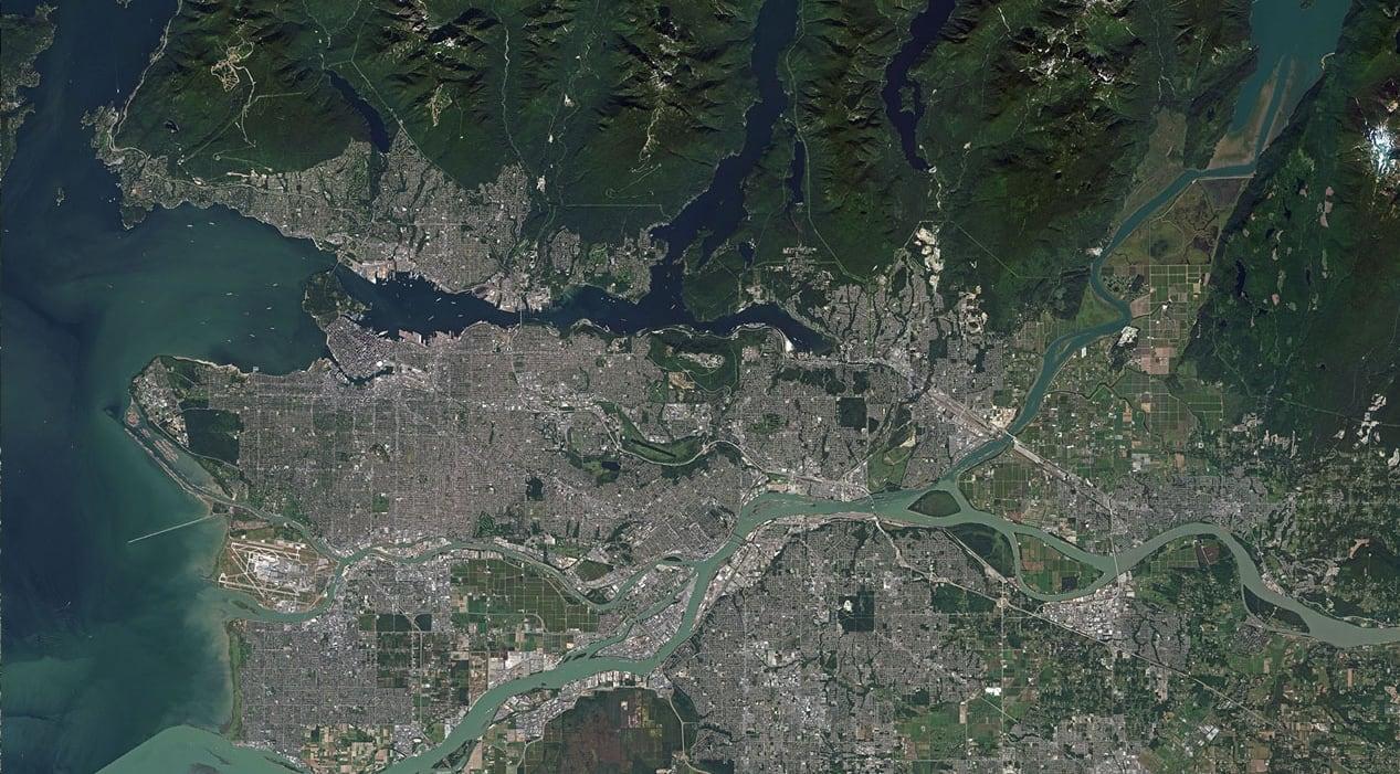 Sharper Satellite Images Allowed As US Loosen Rules - Us map satellite