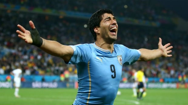 Luis Suarez and Uruguay need a win over Italy to advance. A draw or loss will see La Celeste out.