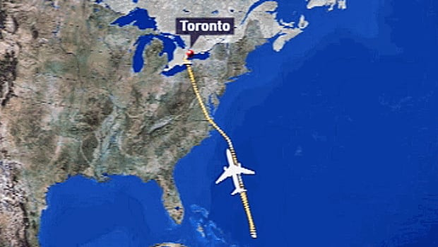 Aviation security experts are questioning a decision on Thursday to demand that a Brazil-bound flight from Toronto return four hours into the flight, after it was discovered one of the passengers had not been properly screened.