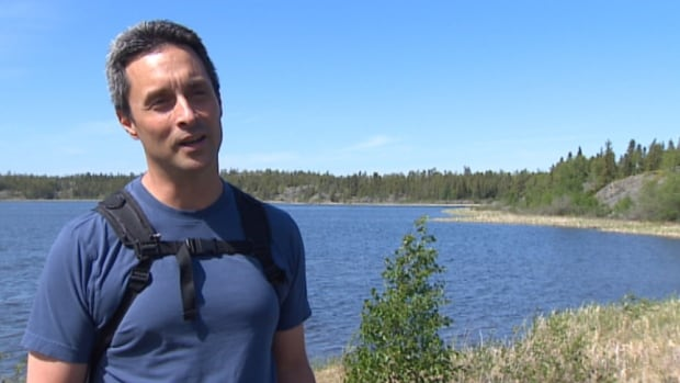 Ron Ostrom of Yellowknife has set a goal of walking around the Frame Lake Trail 365 times this year, and has already done the eight kilometre loop 195 times since January.