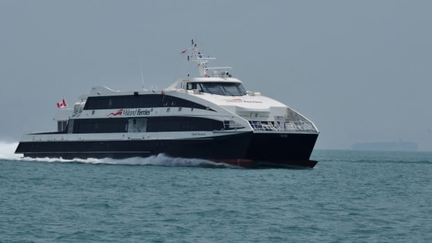 Island Ferry Service is proposing to run two catamarans on the route, with six daily round trips taking about 68 minutes each way.