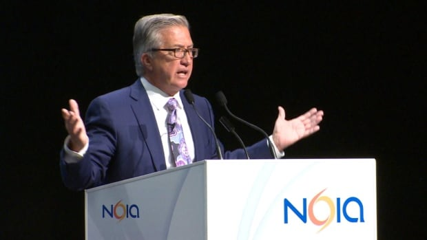Danny Williams at NOIA conference