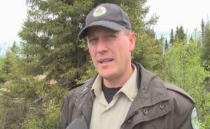 Conservation Officer Chuck Porter