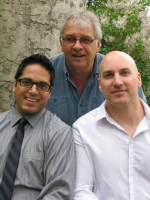 Aman Hussain, Cal Botterill, Jason Brooks, authors of Sustainable High Performance