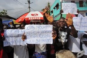 Liberia West Africa Ebola
