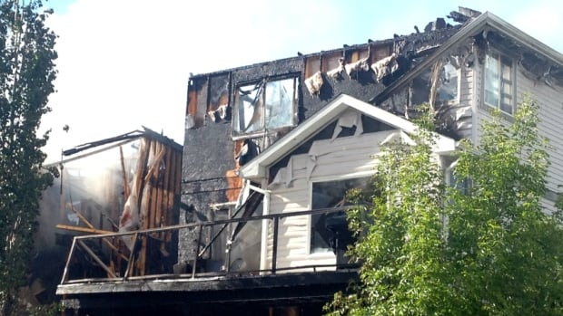 Three homes were damaged by fire in Evanston Friday and two may need to be demolished.