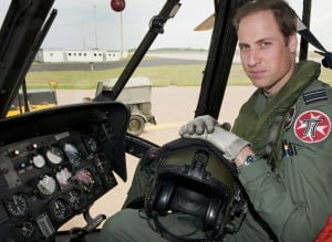 Prince William helicopter