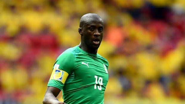 Yaya Toure, pictured, and brother Kolo will stay with the Ivory Coast World Cup side following the death of their younger brother, the team said Saturday.