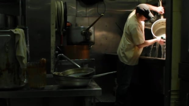 A new interactive production from the National Film Board of Canada titled Bubble Dancers explores the world of restaurant dishwashers, and what their lives behind the scenes is really like.