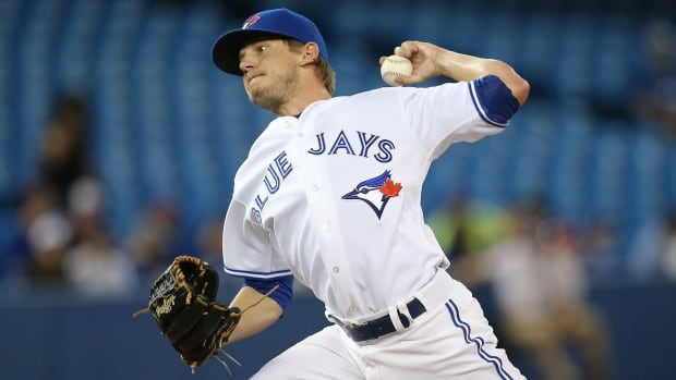 Rob Rasmussen of the Toronto Blue Jays didn't have a decision during his four appearances in May, when he gave up two hits and no runs in two innings.