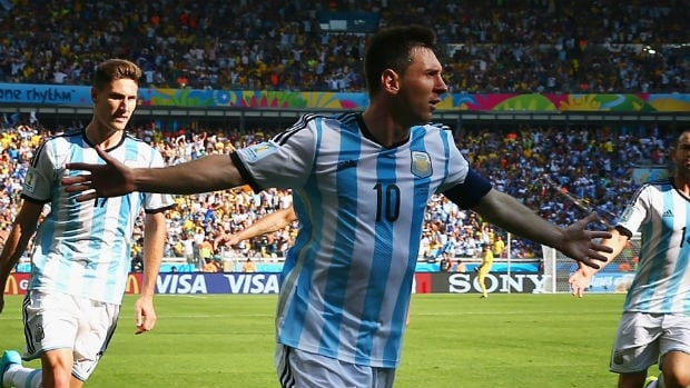 Lionel Messi has been magnificent so far at the 2014 FIFA World Cup.