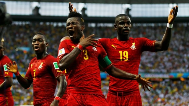Ghana's players hope the off-the-pitch don't distract them from their upcoming match against Portugal. (Marcelo Del Pozo/Reuters)