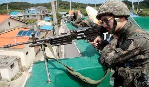 South Korea Border Shooting