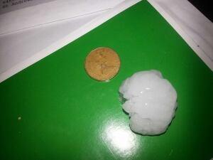 St. Andrews hail