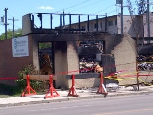 Bissell Centre Fire