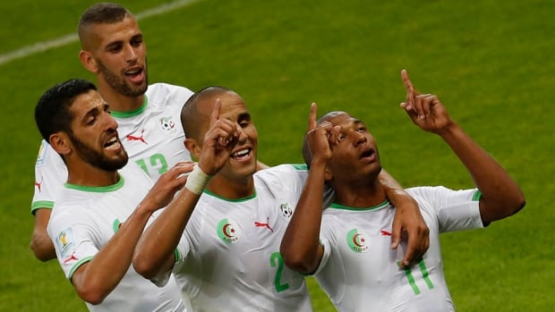 Algeria could make the knockout round for the first time in its history, with a win over Russia on Thursday.