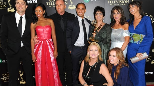 The cast and crew of the long-running soap opera The Young and the the Restless took home the award for outstanding drama series.