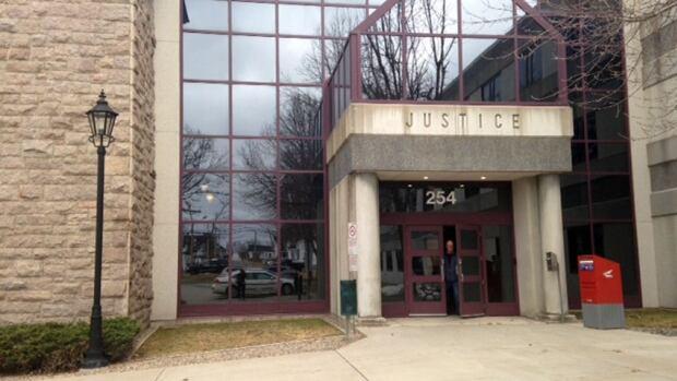 Jérémie Brideau was sentenced in Bathurst court Thursday.