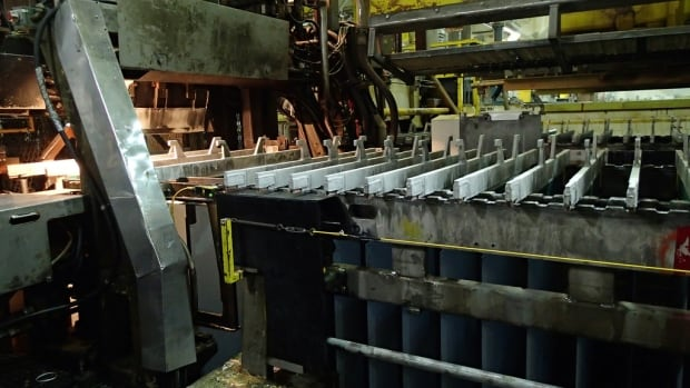 An image from Hudbay Minerals' Flin Flon zinc plant. The company has bought Augusta Resource for about $555 million.
