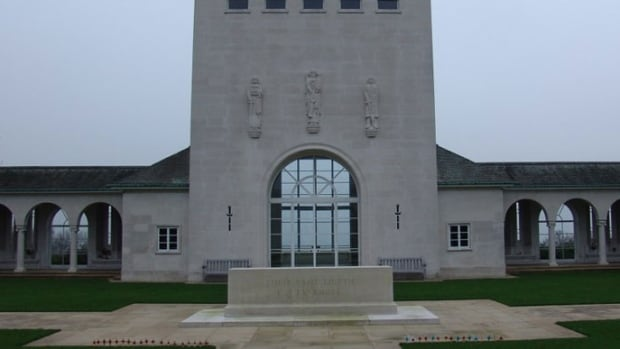 John Joseph Carey had previously been honoured at the Runnymede Memorial in Surrey, U.K., where the names of airmen with no known grave are recorded.