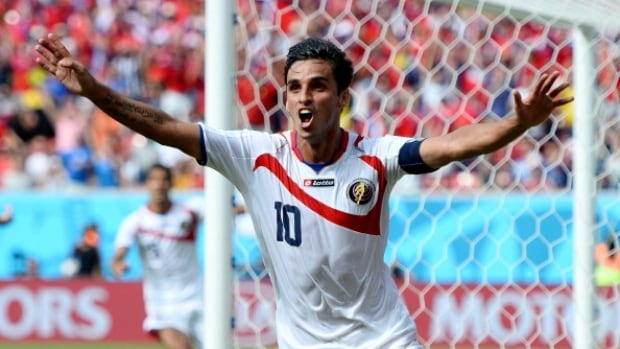 Bryan Ruiz moved Costa Rica into the knockout stage of the World Cup with the game-winning goal against Italy last Friday.