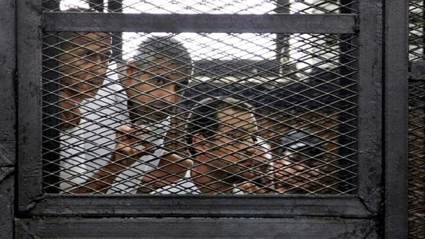 Outrage over journalists' sentences in Egypt
