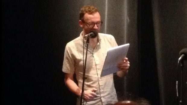 Dan Misener, host of Grownups Read Things they Wrote as Kids, reads from a diary written by his 13-year-old self.