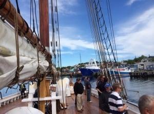 Bluenose II sea trials