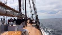 Bluenose II at sea