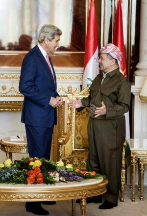 Mideast Iraq Kerry Kurdistan